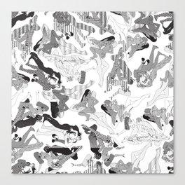 Wild Lines Canvas Print
