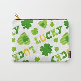 St. Patrick's Day EXTRA IRISH LUCK! Carry-All Pouch