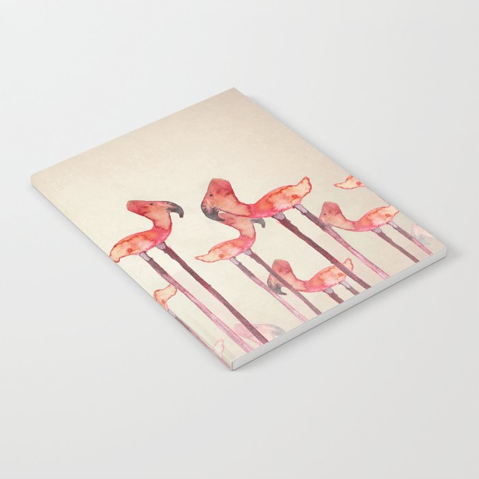 Transmogrified Flamingo Colony Notebook