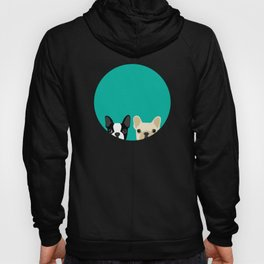 Boston Terrier & French Bulldog 2 Hoody