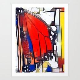 Monarch Boogie Woogie Art Print