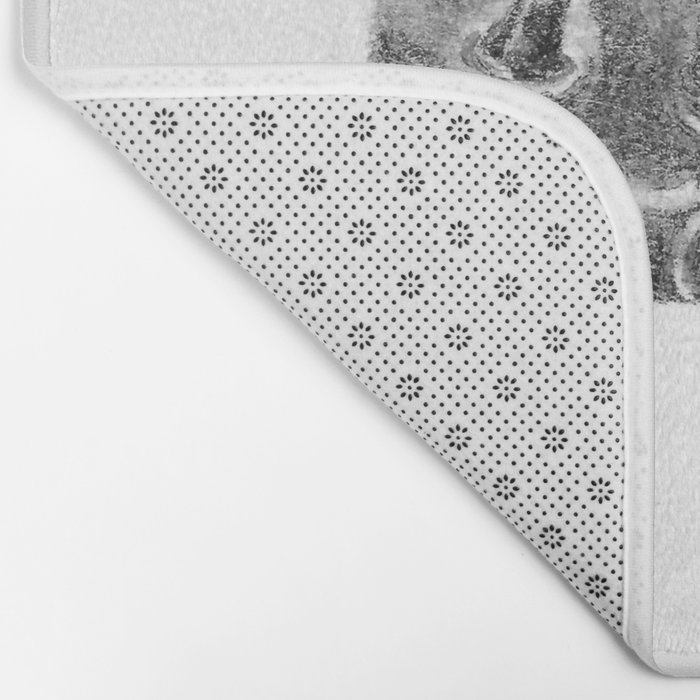 Spiked Nebula Pods (part of the Strange Plants series) Bath Mat