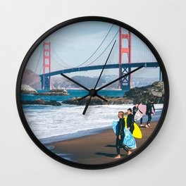 California - Exemplified Wall Clock