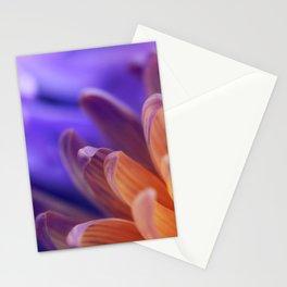 Flower Sunset | cute pastel flower, peach flowers, orange floral pattern, pretty petals, macro Stationery Cards