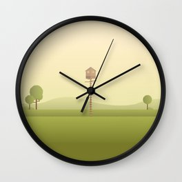 Moonrises Kingdom Wall Clock
