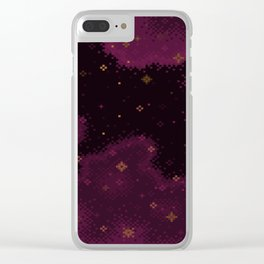 Garnet Universe Clear iPhone Case