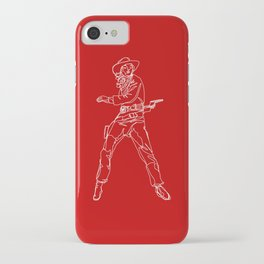 Crimson Cowgirl iPhone Case