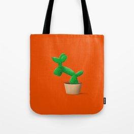 Cactus dog Tote Bag