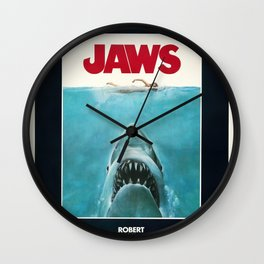 Jaws - Movie Poster Wall Clock