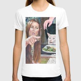 Woman yelling at cat meme #18 T-shirt