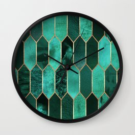 Stained Glass 2 Wall Clock