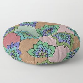 zakiaz autumn lotus Floor Pillow