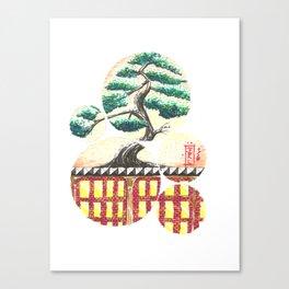 Bonsai City Canvas Print