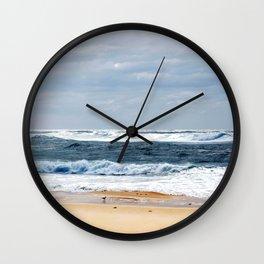 Nobbys Beach Wall Clock
