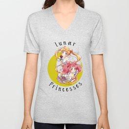 Lunar Princesses Unisex V-Neck