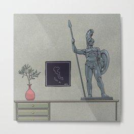 Inktober 2019 Day 17 - Ornament Metal Print