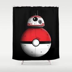 PokeBB Shower Curtain