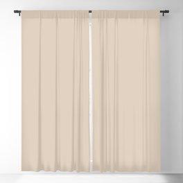 Monochrome collection Beige Blackout Curtain