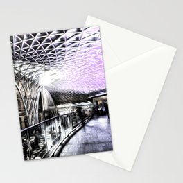Kings Cross Station Art Stationery Cards