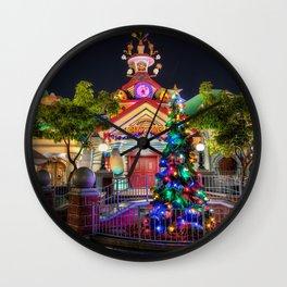 Toontown Christmas Wall Clock