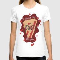 pie T-shirts featuring Pie!  by Clair Mtz