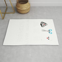 Rock Paper Scissors Saxophone Cool Music Lovers Gifts T-Shirt Rug