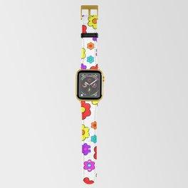 Pop Flowers Apple Watch Band