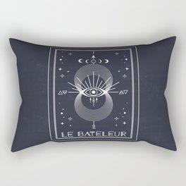 The Magician or Le Bateleur Tarot Rectangular Pillow