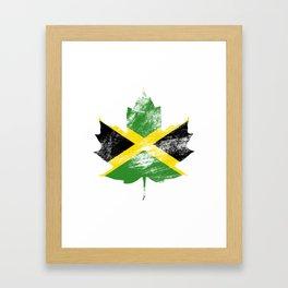 Jamaica/Canada Framed Art Print