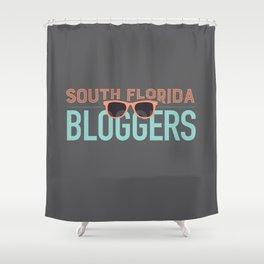 South Florida Bloggers Logo Shower Curtain