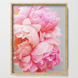 Peonies Forever Serving Tray