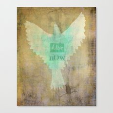 Live Know Canvas Print