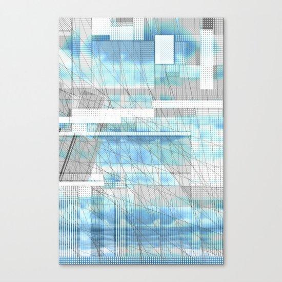 Sky Scraped Canvas Print