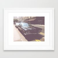 america Framed Art Prints featuring America  by scro