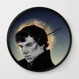 racing mind & human heart - Sherlock Holmes Wall Clock