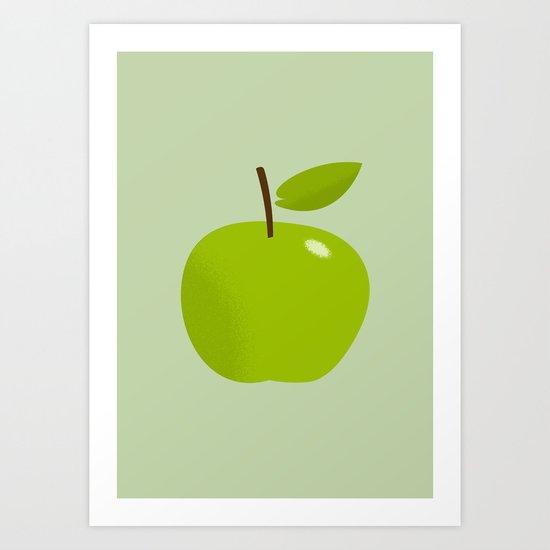 Apple 25 Art Print