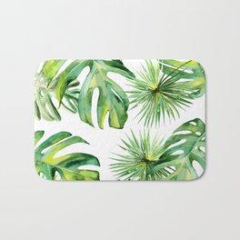 tropical again Bath Mat