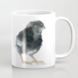 Barred Rock Chick Watercolor Coffee Mug