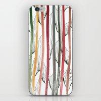 stripes iPhone & iPod Skins featuring STRIPES by Uta Krauss