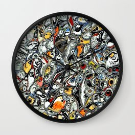 Eyes! Wall Clock