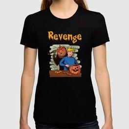 Revenge Revenge Of The Halloween Pumpkin. Vintage T-shirt