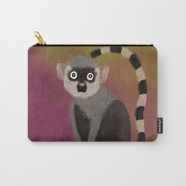 Lemur in a Tree Carry-All Pouch