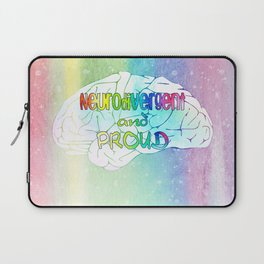 Neurodivergent and proud Laptop Sleeve