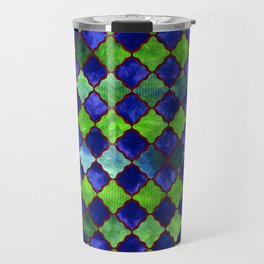Spyjack Arabesque Digital Quilt Travel Mug