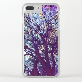 The Fun Colors of Fall Clear iPhone Case