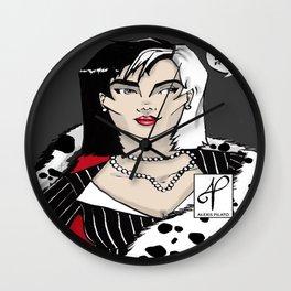Cruella. Wall Clock