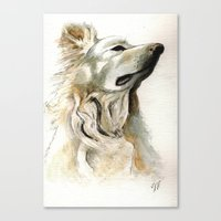 jake Canvas Prints featuring Jake by Victoria Richards
