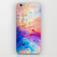 cosmos iPhone & iPod Skins featuring Cosmos by Kimsey Price
