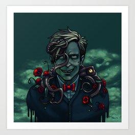 Underwater Phin Art Print