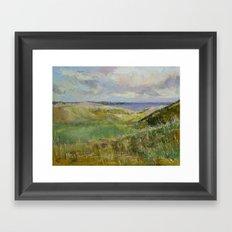 Scotland Landscape Framed Art Print